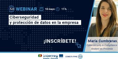 """Webinar """"Ciberseguridad y protección de datos en la empresa"""""""