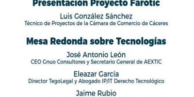 La Cámara de Comercio de Cáceres celebra una Jornada sobre Blockchain, Big Data y Ciberseguridad