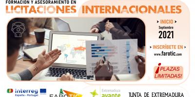 Abierto el plazo de inscripción del Programa de Formación y Asesoramiento en Licitaciones Internacionales