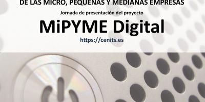 Jornada de presentación del proyecto MiPYME Digital, destinado a la digitalización del tejido empresarial extremeño