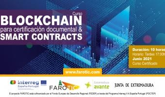 """Curso """"Blockchain para certificación documental & Smart Contracts"""""""
