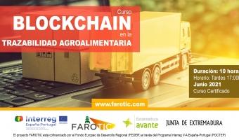 """Curso """"Blockchain en la trazabilidad agroalimentaria"""""""