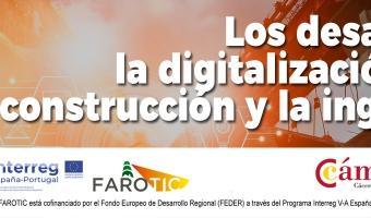 """Jornada """"Los desafíos de la digitalización en la construcción y la ingeniería"""""""