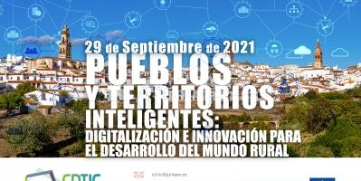 """Webinar """"Pueblos y territorios inteligentes: digitalización e innovación para el desarrollo del mundo rural"""""""