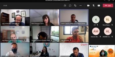 Las entidades socias extremeñas y portuguesas de FAROTIC se reúnen para continuar con los avances técnicos del proyecto